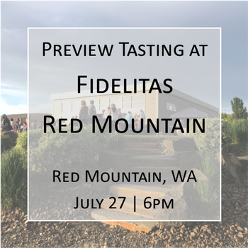 Preview Tasting on Red Mountain @ 6pm