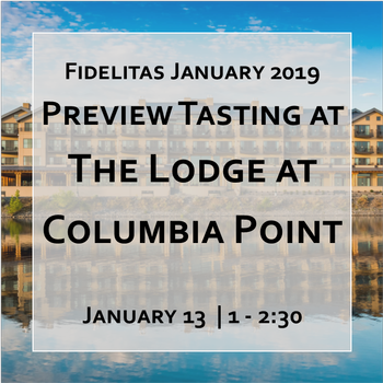 Preview Tasting at The Lodge at Columbia Point @ 1pm Image