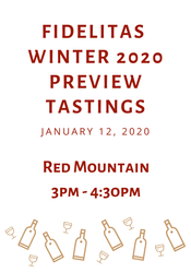 Preview Tasting on Red Mountain @ 3pm